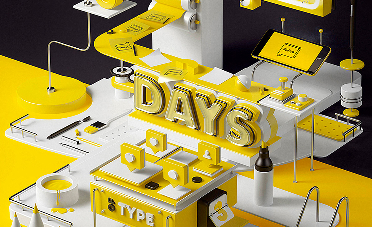 36 days of type zoco estudio