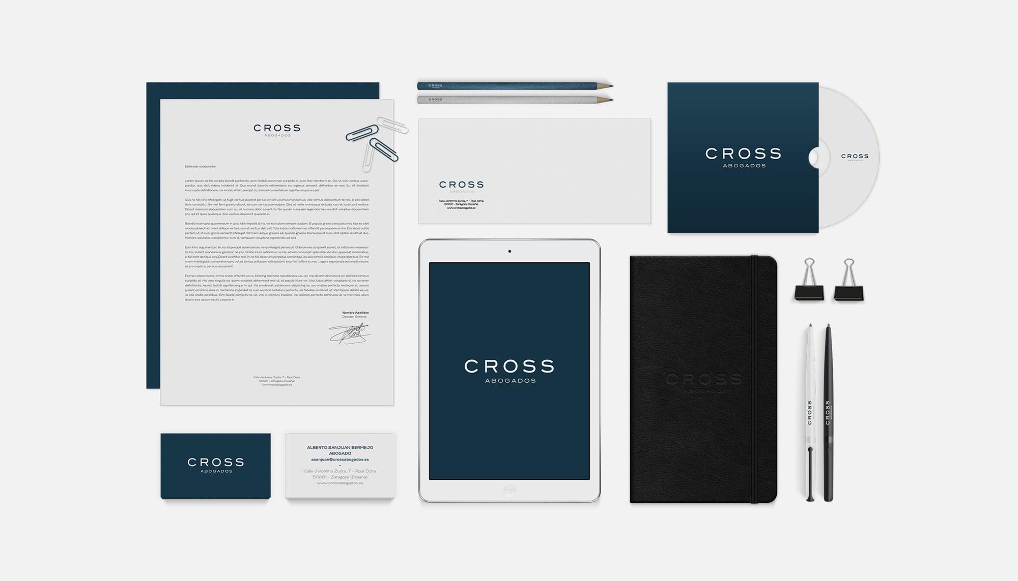 Imagen Corporativa Cross Abogados Asesores