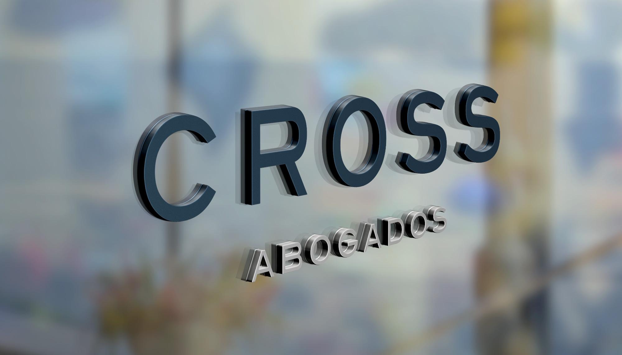 Rotulación Cross Abogados Asesores