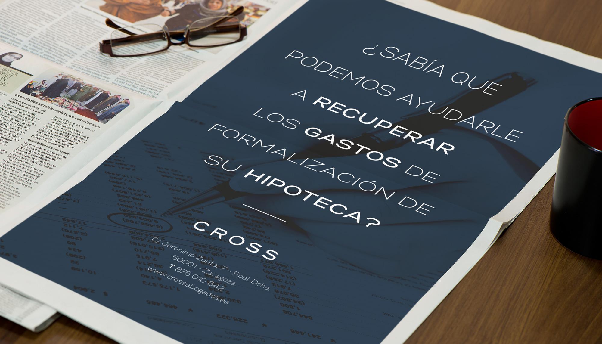 Publicidad Cross Abogados Asesores