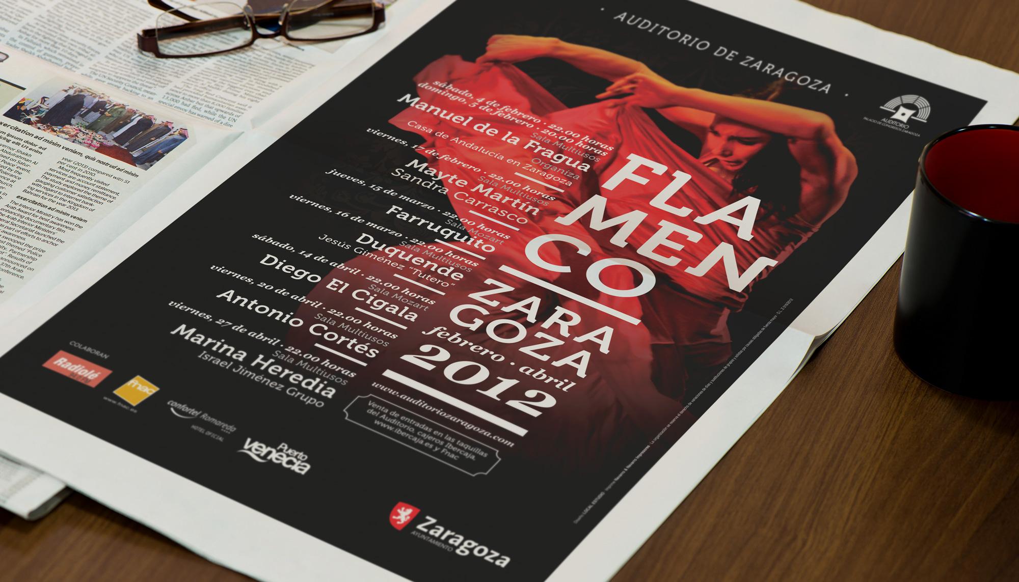 Publicidad Flamenco Zaragoza 2012