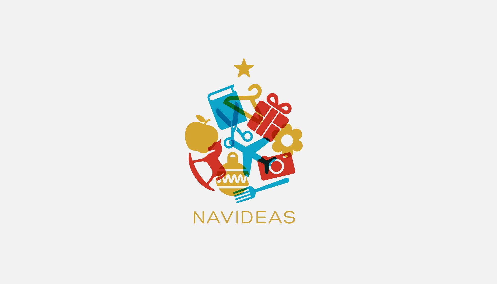 Identidad Corporativa Feria Navideas