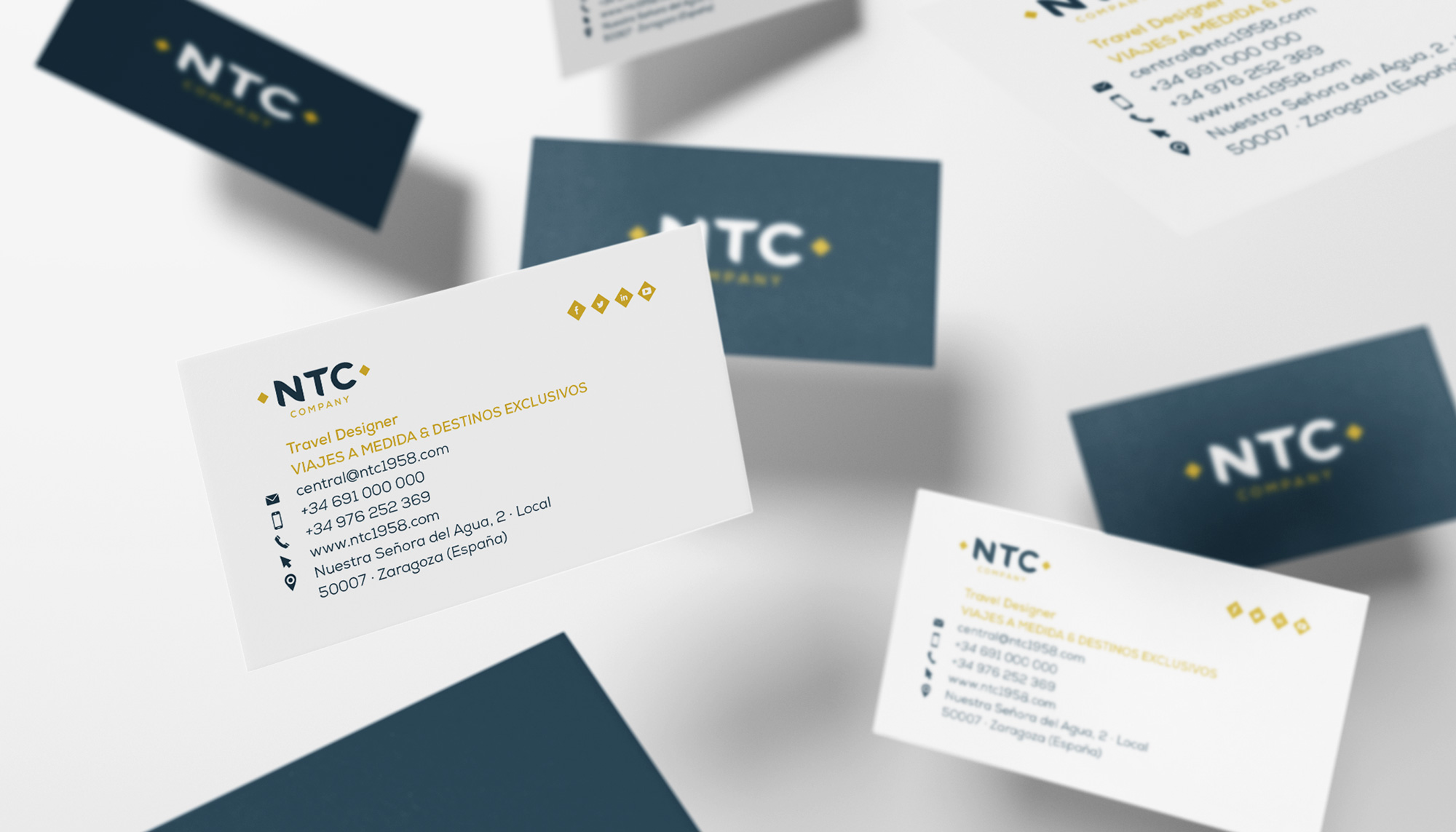 Identidad Corporativa NTC Company