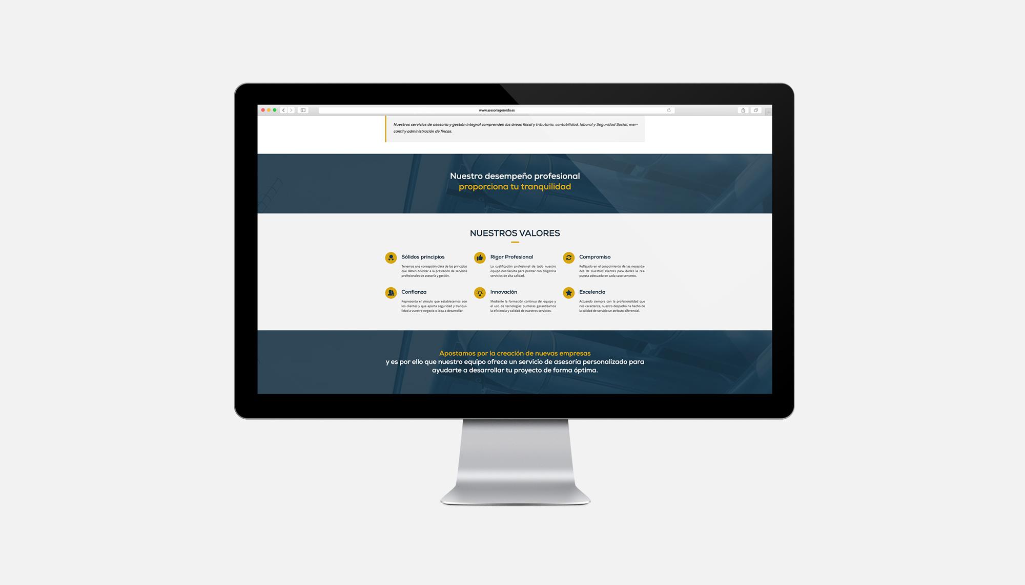 Web Asesoría Gorordo