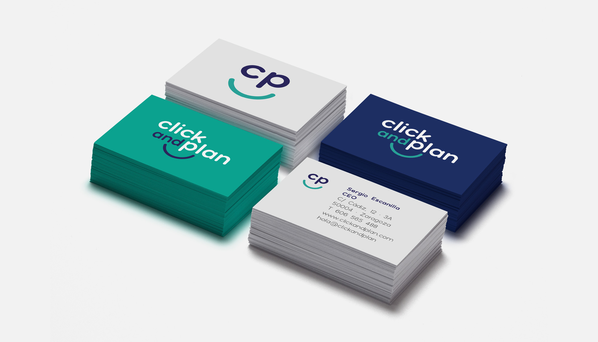 Imagen Corporativa App Click and Plan