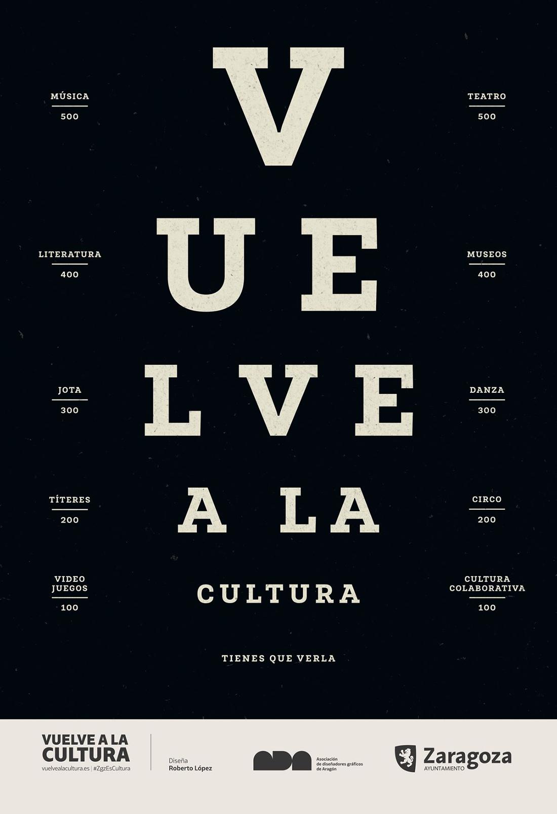 Vuelve a la cultura Zaragoza